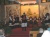 La serata finale: si esibisce un Coro sardo in costume tipico