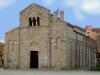 La facciata della Basilica di S. Simplicio (Olbia)