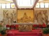 Vista d'insieme dell'altare della Chiesa di N. S. de la Salette (Olbia)